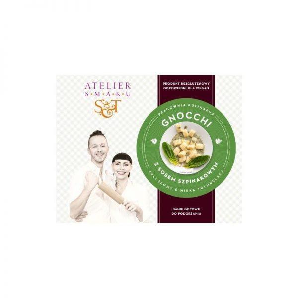 Gnocchi z sosem szpinakowym