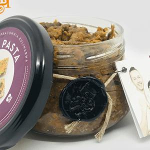Bezglutenowa i wegańska pasta nie - metka