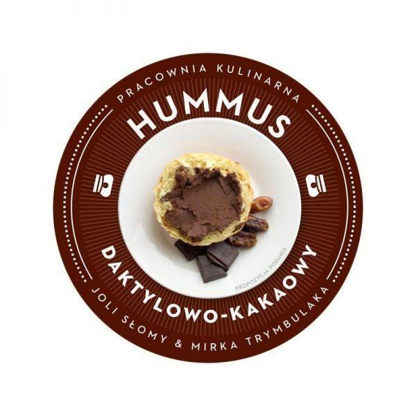 Hummus czekoladowy z daktylami