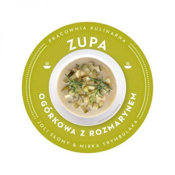 Wegańska i bezglutenowa zupa ogórkowa z rozmarynem