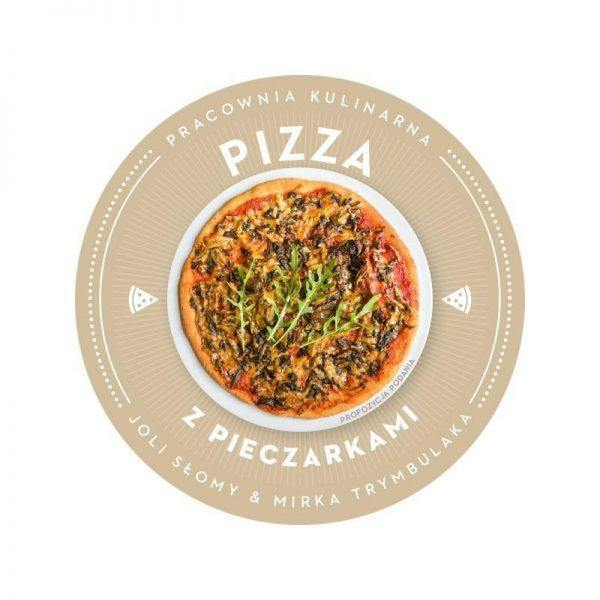 Bezglutenowa i wegańska pizza z pieczarkami