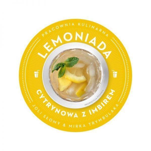 Bezglutenowa i wegańska lemoniada cytrynowa z imbirem
