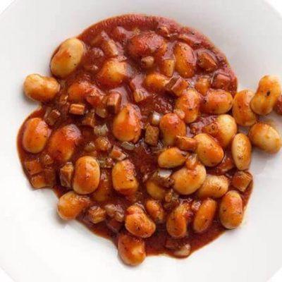 Bezglutenowa i wegańska nie - fasolka po bretońsku