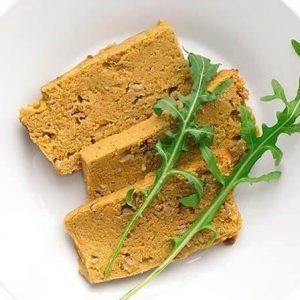 Bezglutenowy i wegański pasztet grochowo-warzywny