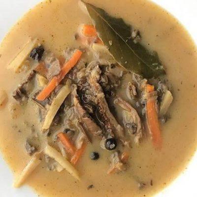 Bezglutenowa i wegańska zupa grzybowa