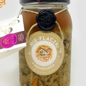 Bezglutenowe i wegańskie nie - flaczki z boczniaków