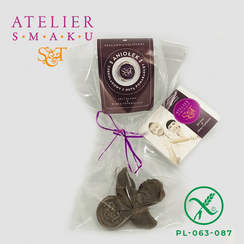 Atelier Smaku aniołek czekoladowy z nutą pomarańczy 2