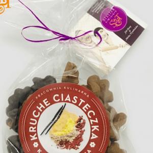 Bezglutenowe i wegańskie kruche ciasteczka Kakao & Wanilia